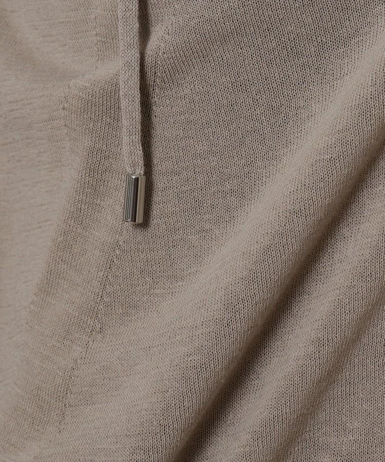 BR153(アンタイトル)通販 [L]【洗える】コットン麻ニットパーカー