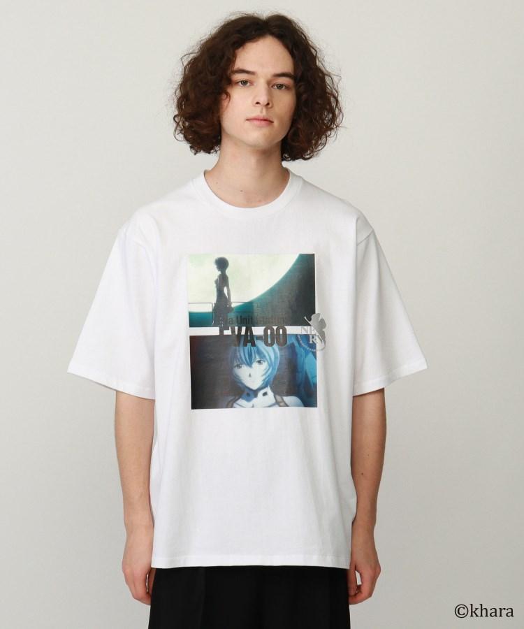 BR170(ティーケー タケオ キクチ)通販|EVANGELIONコラボ 零号機Tシャツ 『笑えばいいと思うよ』