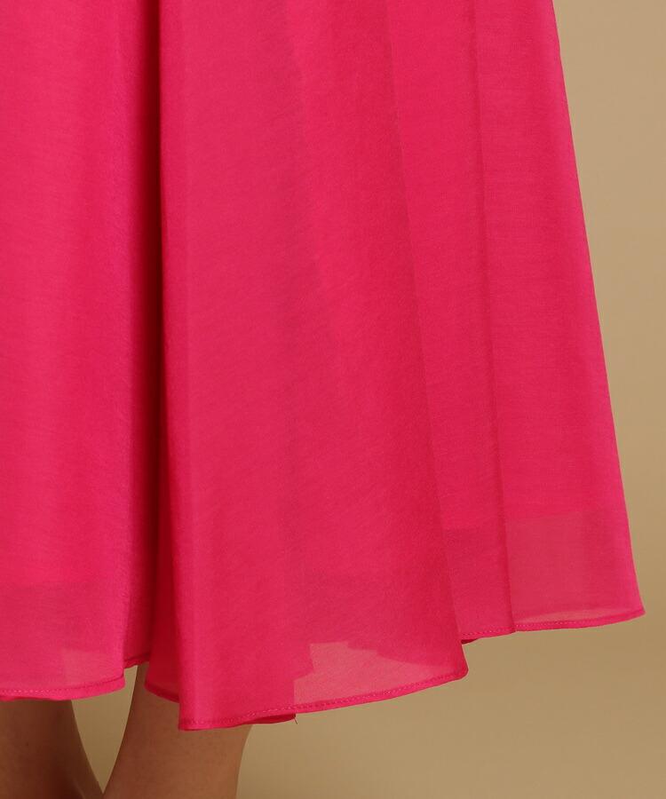 BR528(アナトリエ)通販 【S-Lサイズあり】ロングブライトスパンボイルマキシスカート