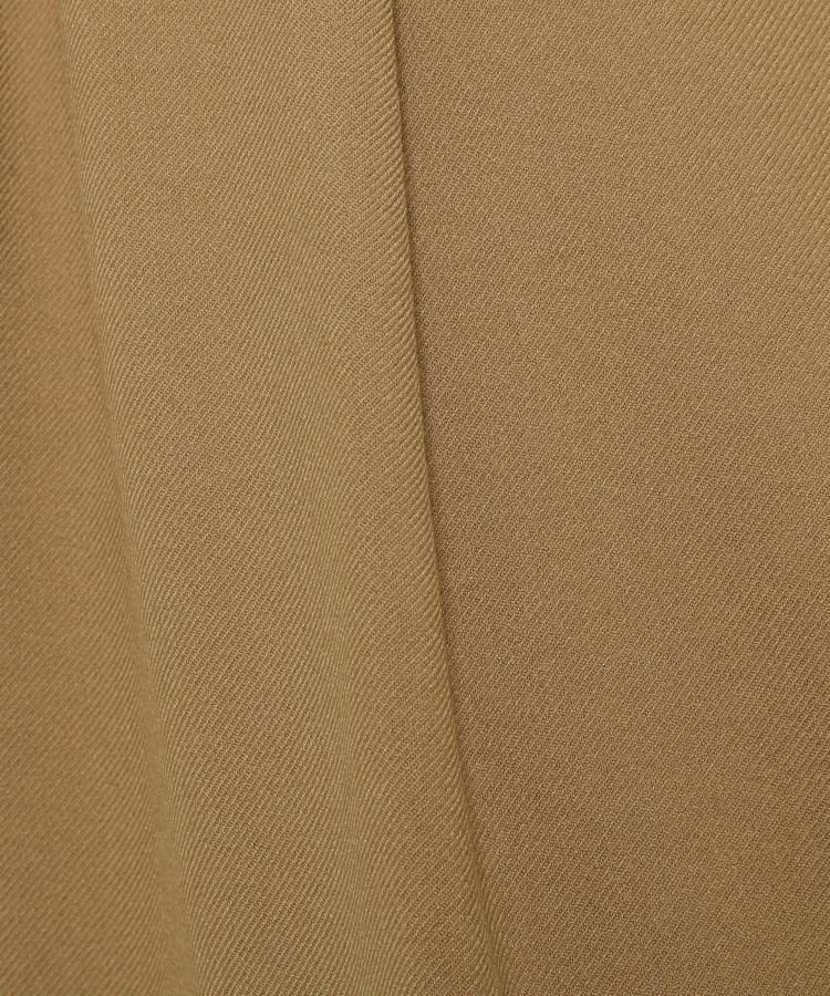 BR528(アナトリエ)通販|裏起毛ストレッチツイルワイドパンツ