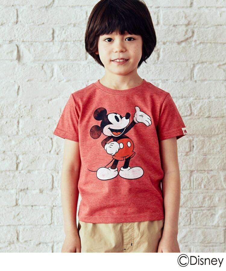 3can4on(Kids)(サンカンシオン(キッズ))通販 <ディズニー>半袖Tシャツ(レッド(062))