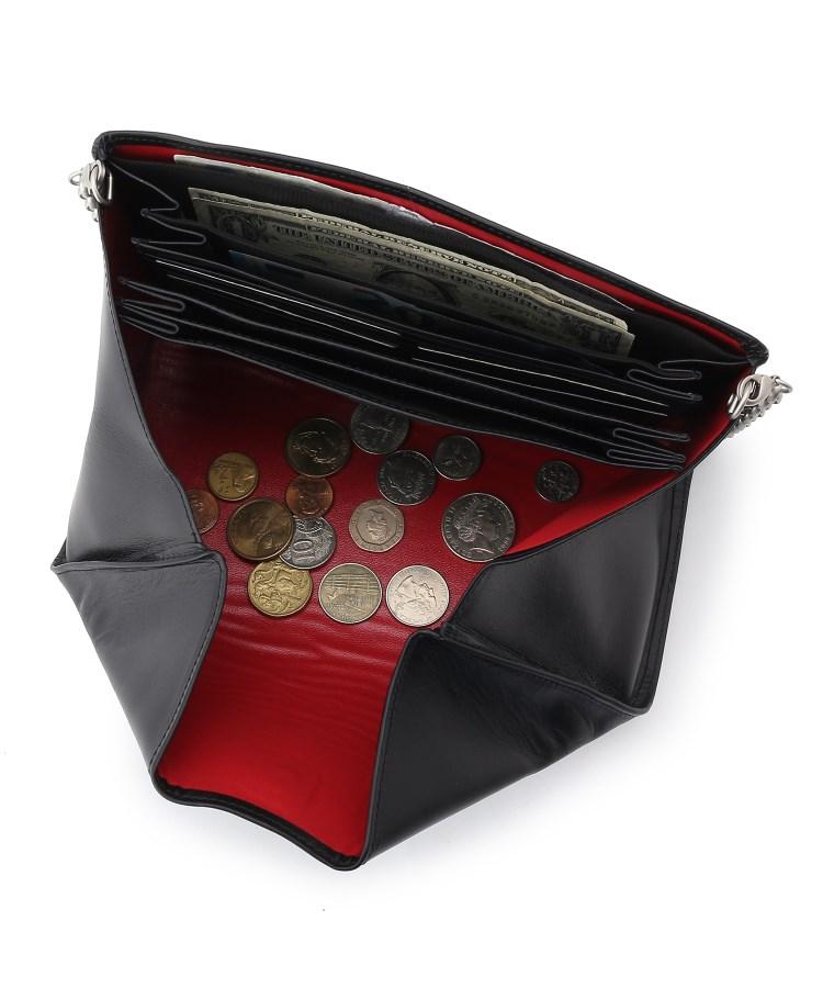 BR709(ヒロコ ハヤシ)通販 SALUTE(サルーテ) チェーン付き長財布