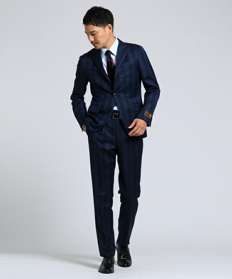 TAKEO KIKUCHI(タケオキクチ)通販 ウィリアムハルステッド3Bスーツ[ メンズ スーツ ](ネイビー(393))