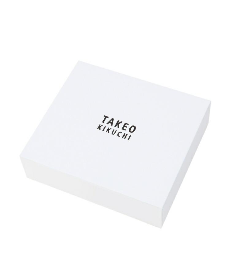 BR070(タケオキクチ)通販|マルチドットパッチワーク2つ折財布 [ メンズ 財布 ]