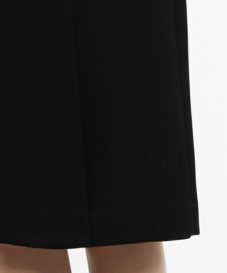 BRA14(インディヴィ カラードレス)通販|INDIVI Vネックジャケット×ラップ風ワンピースセット