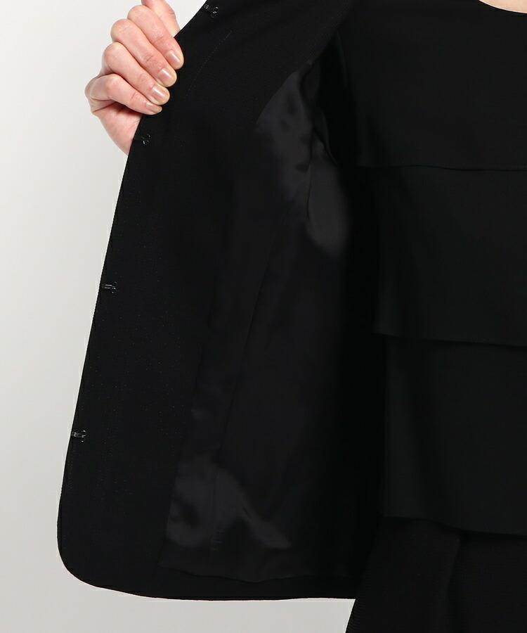BRA14(ワールド フォーマル セレクション)通販|Reflect 異素材ワンピース+ノーカラージャケット