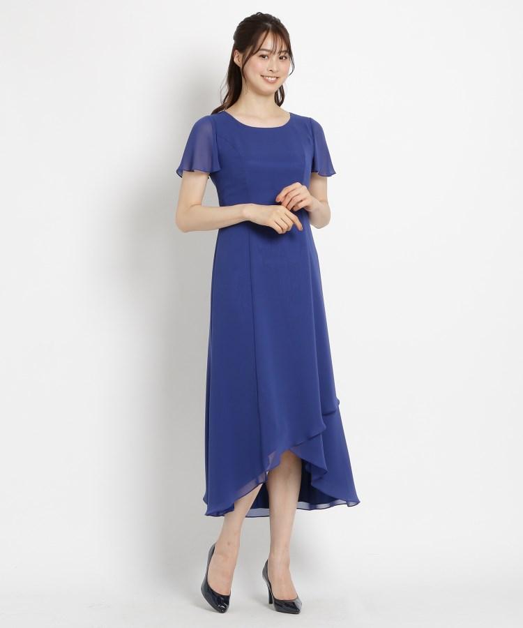 BRA14(ワールド フォーマル セレクション)通販|EMOTIONALL DRESSES ヘム重ねマキシワンピース