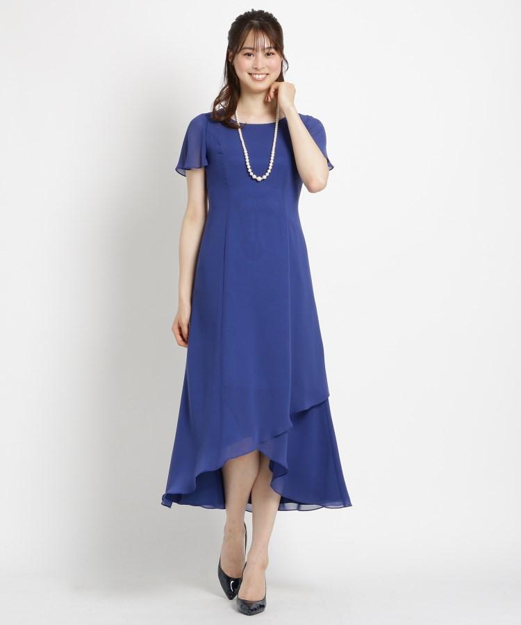 WORLD FORMAL SELECTION(ワールド フォーマル セレクション)通販|EMOTIONALL DRESSES ヘム重ねマキシワンピース(ライトブルー(091))