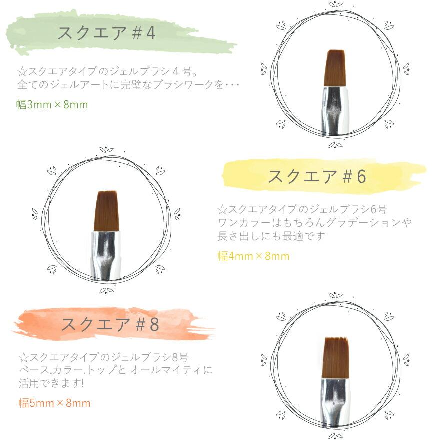 ジェルネイルスターターキットに付属のカラージェルカラー早見表1バリエーションは48色新色ぞくぞく増えてます!大満足の5g