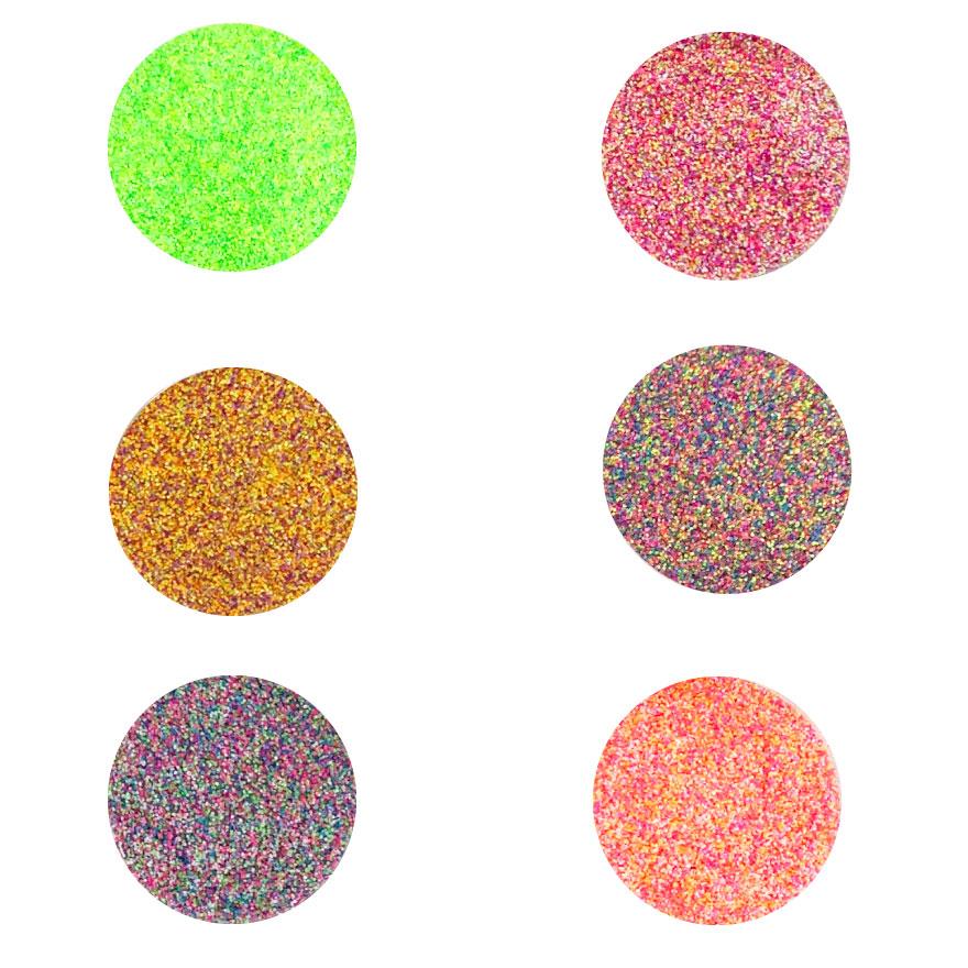 ジェルネイル カラージェル 早見表2,カラーバリエーション,ビビッドカラー