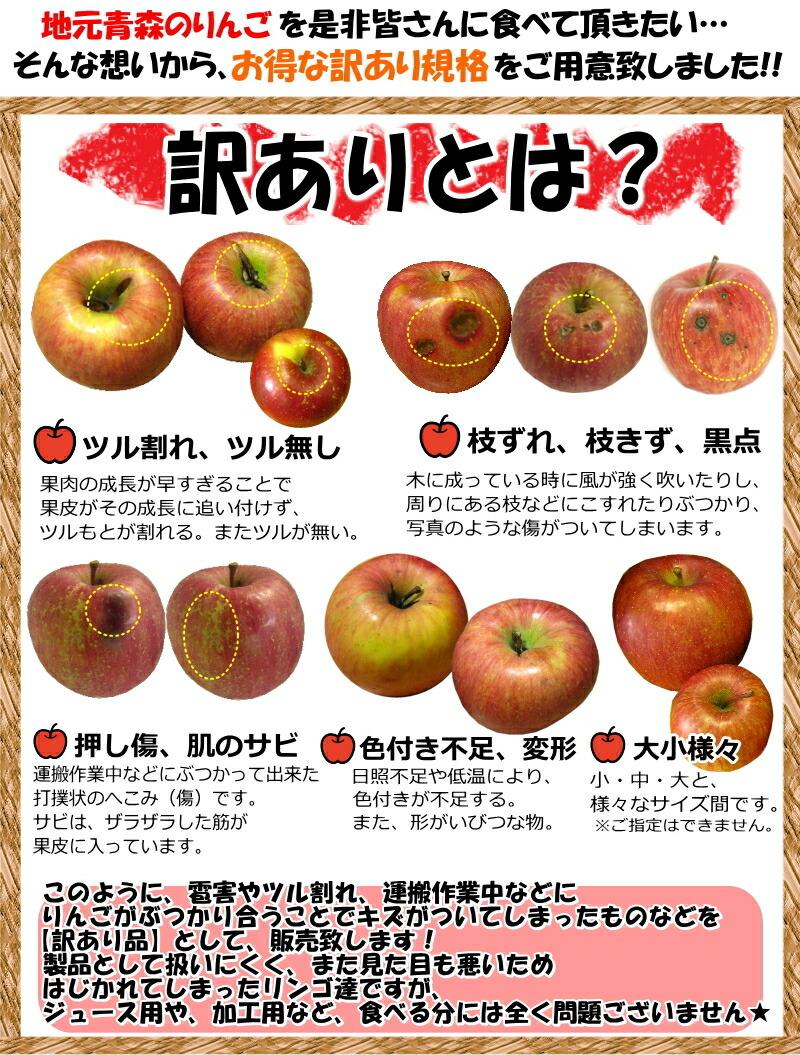 りんご 訳ありとは