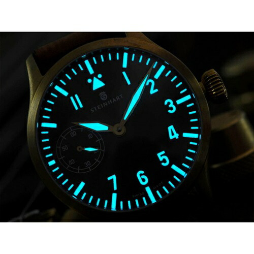 NavB-Uhr47mmHandwindBronze�٥��