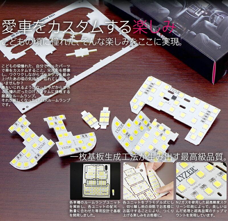LYZER LEDルームランプ商品説明画像2