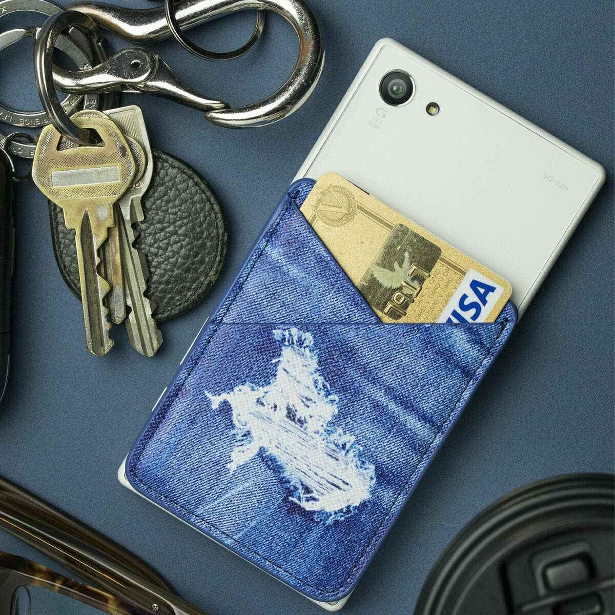 スマートフォンカードポケット