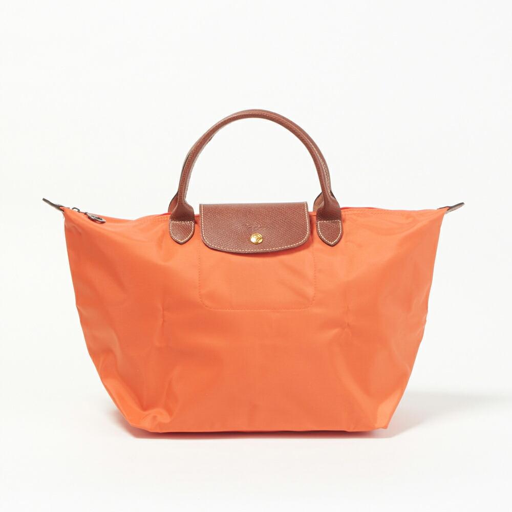 sale retailer 4c9f7 91743 ロンシャン LONGCHAMP バッグ トートバッグ 1623 089 B44 Orange 【Pliage】 Mサイズ