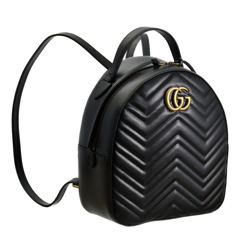 cheap for discount 1be35 8a409 グッチ GUCCI バッグ リュックサック バックパック 【GGマーモント】 476671 DTDHT ブラック(1000)【bgl】【flk】