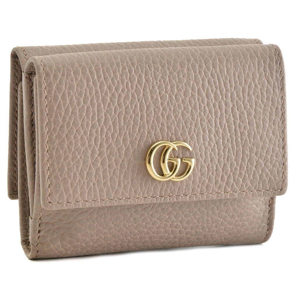 huge selection of f848a f84e3 グッチ GUCCI 財布 折財布 【GG MARMONT:GGマーモント】 524672 CAO0G ブラウン系(5729/PORCELAIN  ROSE)【skl】