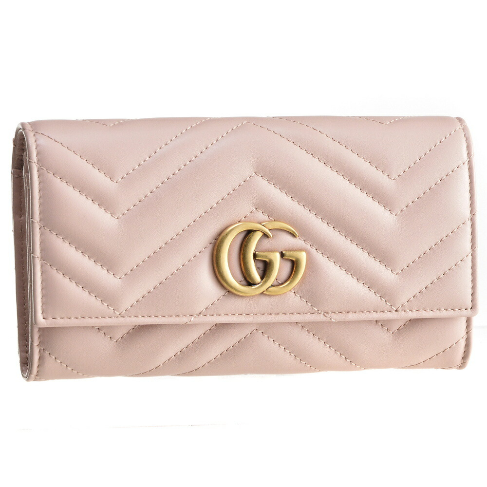 best loved 703e7 1fb6a グッチ GUCCI 財布 長財布 【GGマーモント:GG MARMONT 2.0 ...