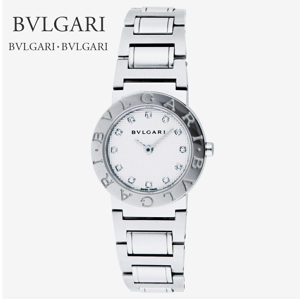 cheaper fd718 eb583 ブルガリ BVLGARI 腕時計 レディースウォッチ ブルガリブルガリ BB26WSS/12 ホワイト 26mm 【お取り寄せ】