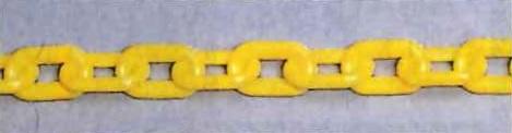 プラスチックチェーン 黄