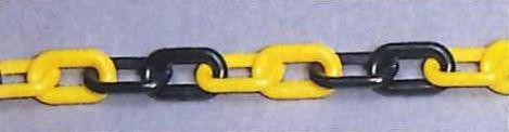 プラスチックチェーン 黄&黒