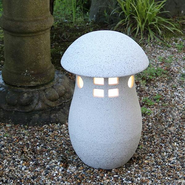 庭園灯 信楽焼 陶器照明 庭用 照明 ライト 行灯 信楽焼照明 屋外用照明 ライト