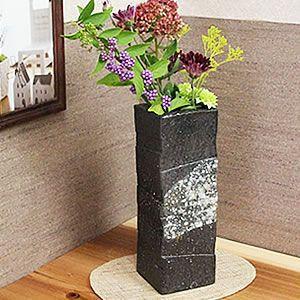 古信楽角 花瓶
