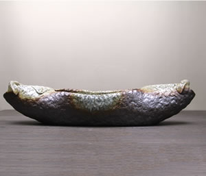 花入れ 花器 しがらきやき 陶器花瓶