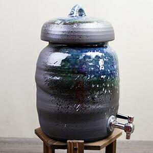 3.6リットル青ビードロ焼酎サーバー