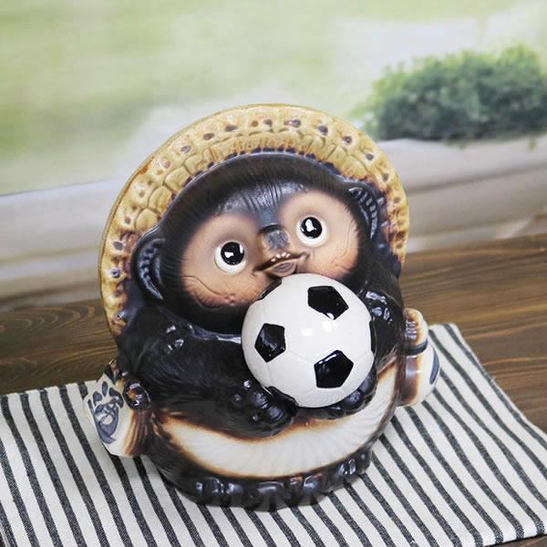 サッカー狸