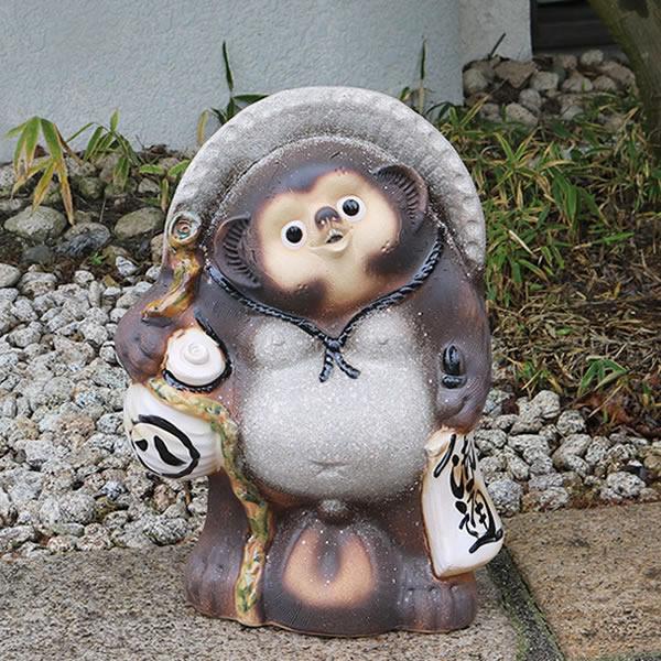 たぬき 信楽焼たぬき 陶器タヌキ 狸 やきもの狸 焼き物 タヌキ陶器 しがらきタヌキ 信楽 タヌキ