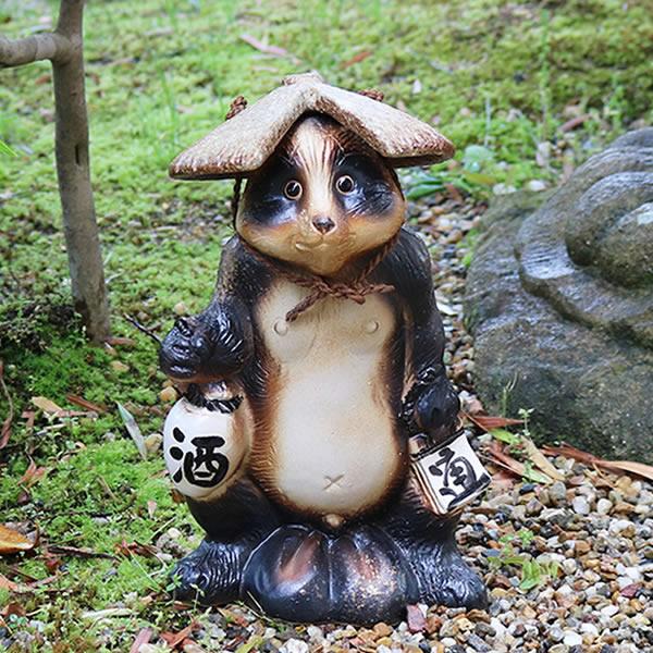 信楽焼 狸 信楽焼たぬき ほろ酔い狸 タヌキ 陶器タヌキ たぬき置物 やきもの しがらきやき 焼き物 狸 タヌキ 信楽 やきもの