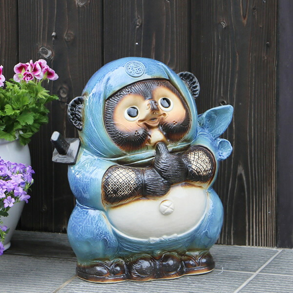 青忍者たぬき(大)