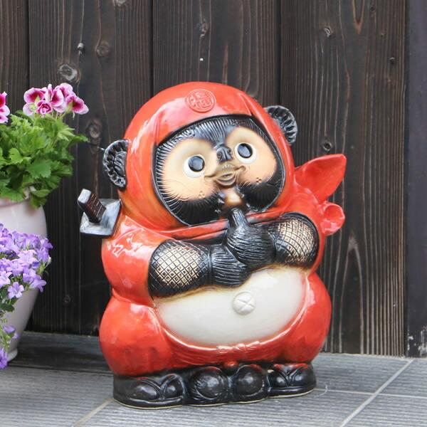 赤忍者たぬき(大)