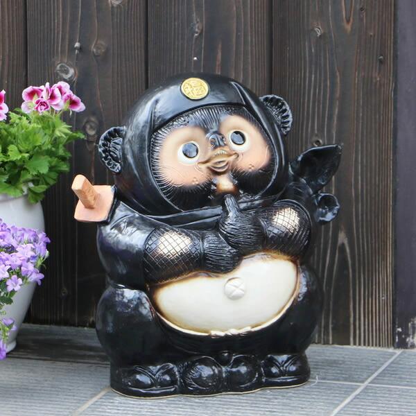 黒忍者たぬき(大)