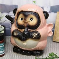 ドロン忍者狸(ピンク)