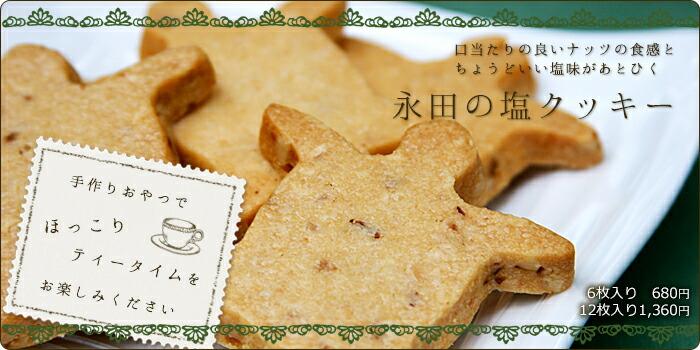 【無添加】屋久島永田の塩クッキー