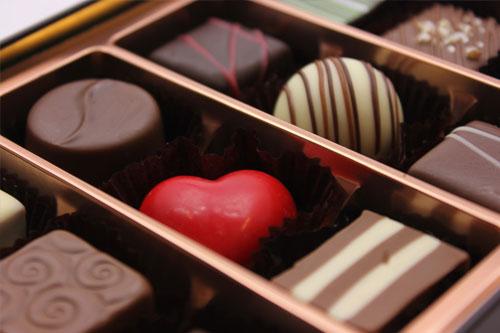 バレンタイン 高級 チョコ
