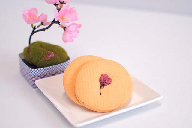 花のクッキー