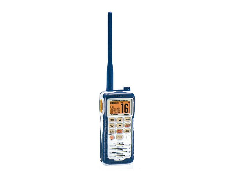 国際VHFトランシーバー