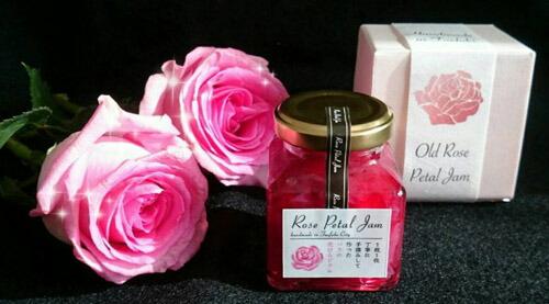 薔薇の花びらジャム