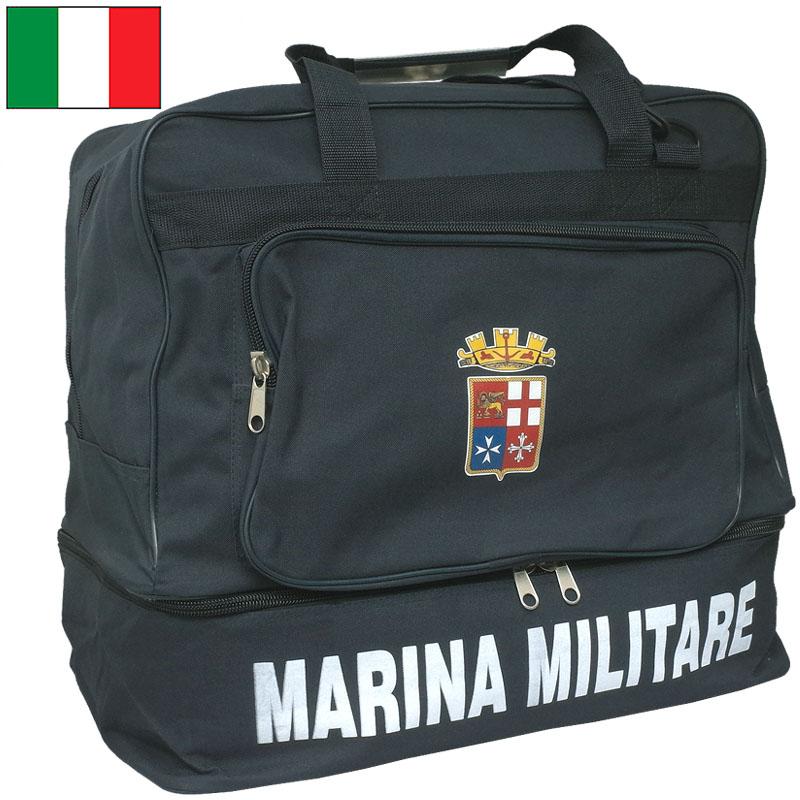 イタリア軍 MMI スポーツ ボストンバッグ ネイビー デッドストック