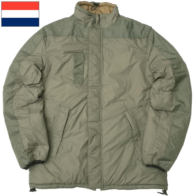 オランダ軍 Softie リバーシブル ジャケット オリーブ コヨーテ デッドストック