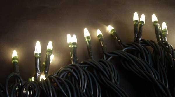 使用LEDライト