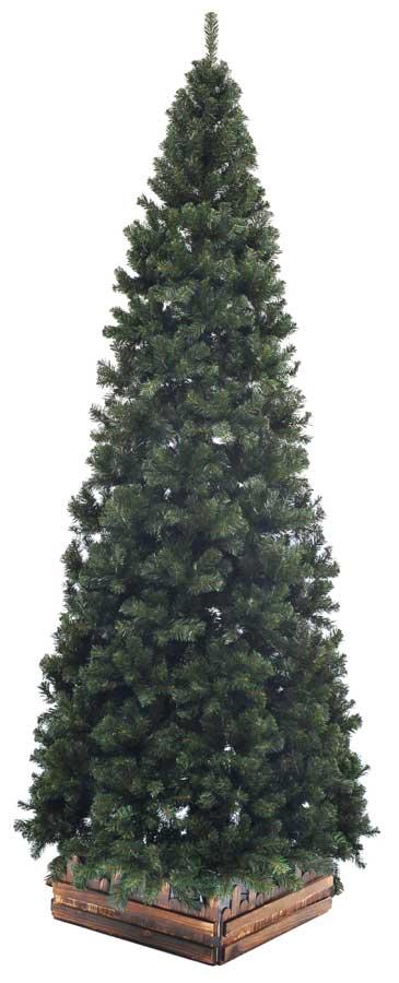 山本人形オリジナル クリスマスツリー濃緑 木枠サービス中