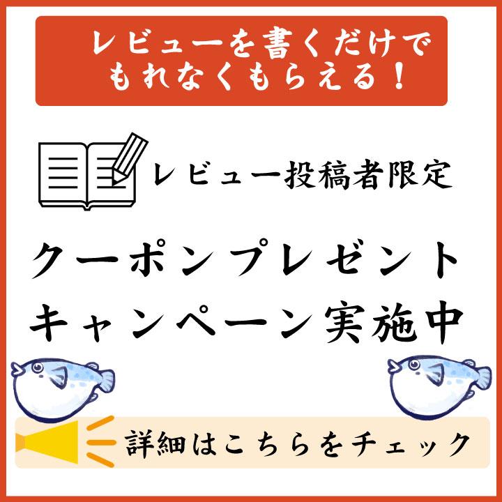 レビュー投稿者限定キャンペーン