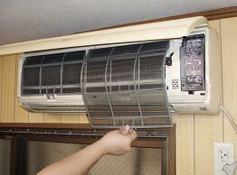 エアコン洗浄手順