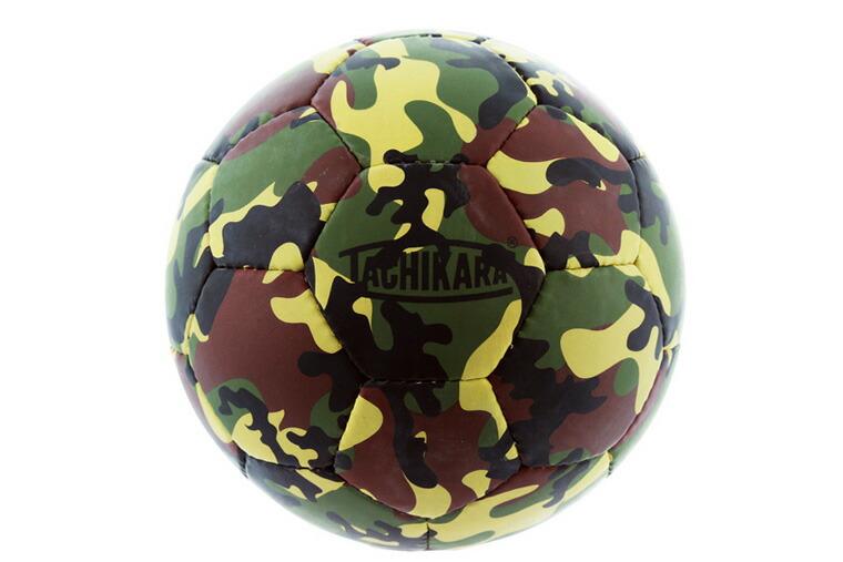 タチカラ フットボール 5号 ガムフットボール ウッドランドカモ