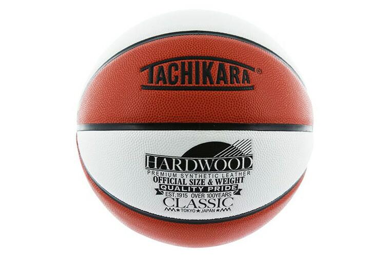 タチカラ バスケットボール 6号 ハードウッドクラシック