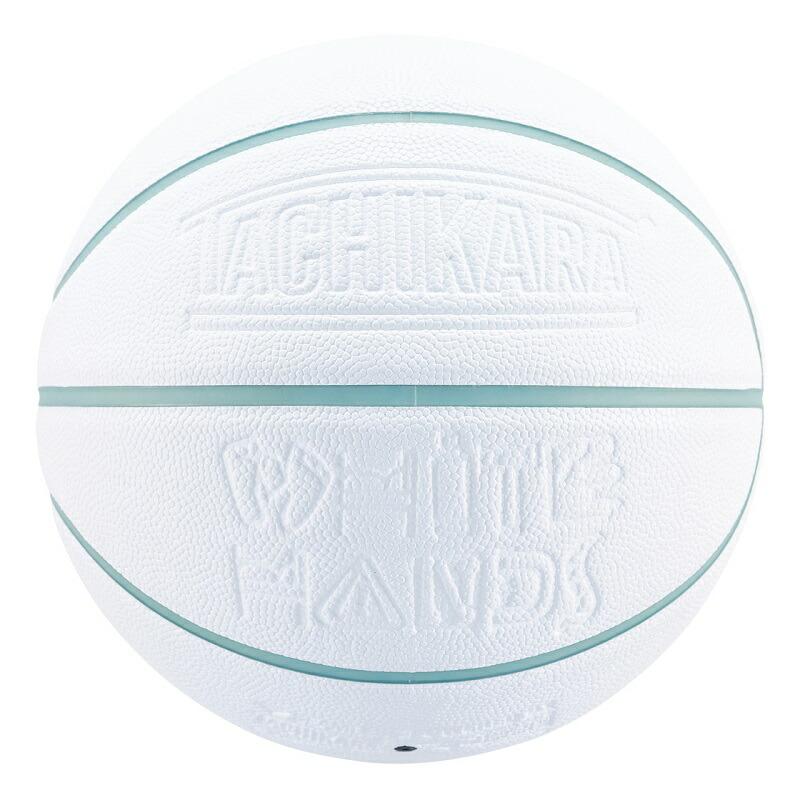 TACHIKARA BASKETBALL WHITE HANDS -Ice Blue-